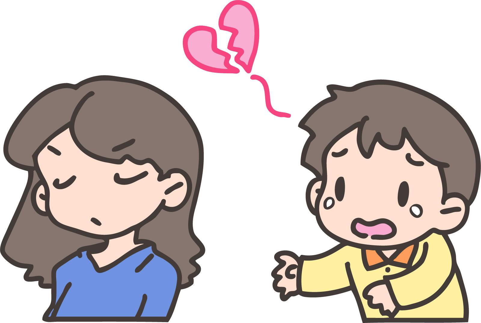 性格の不一致と離婚原因