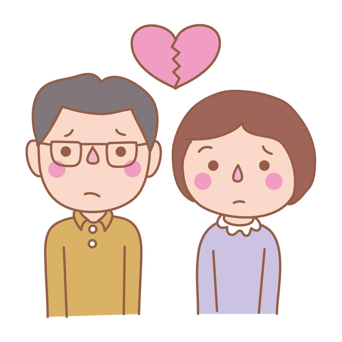 離婚原因と別居